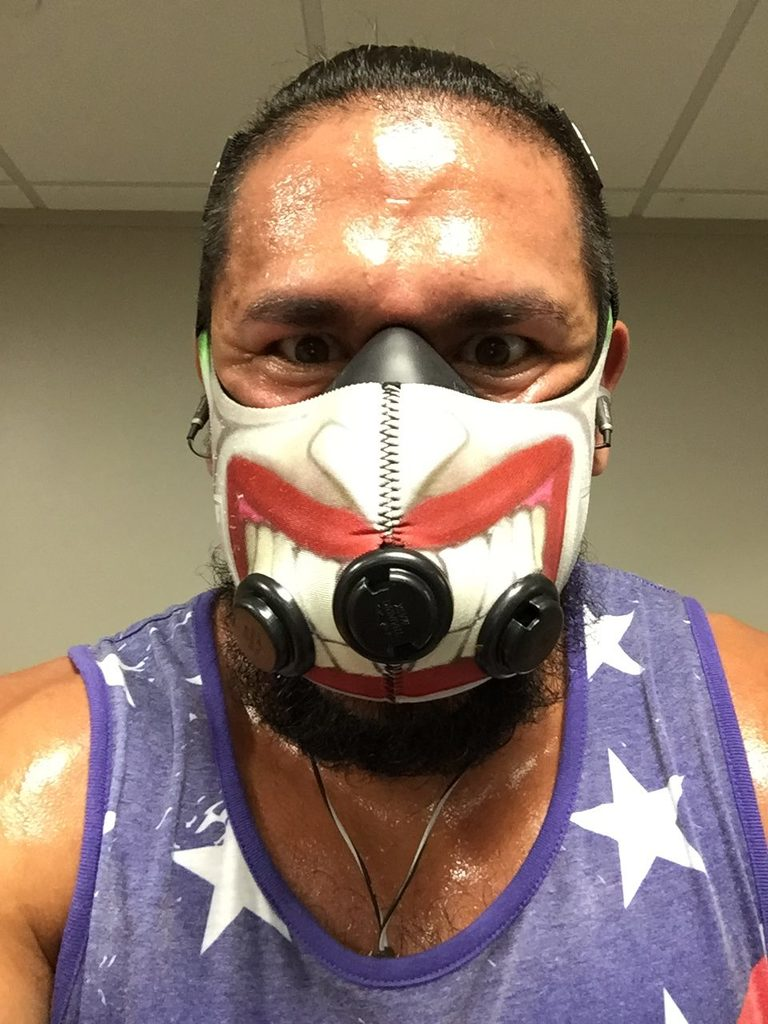 cardio elevation training mask
